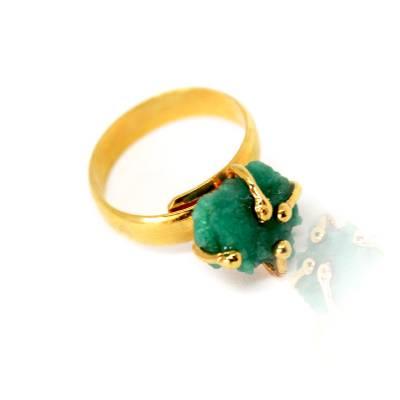 Joyas en Madrid-anillos- con esmeraldas- Baru