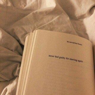 Never feel guilty for starting again ⛅ New beginnings are magic